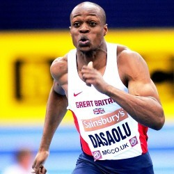James Dasaolu and Asha Philip to run at Sainsbury's Indoor Grand Prix