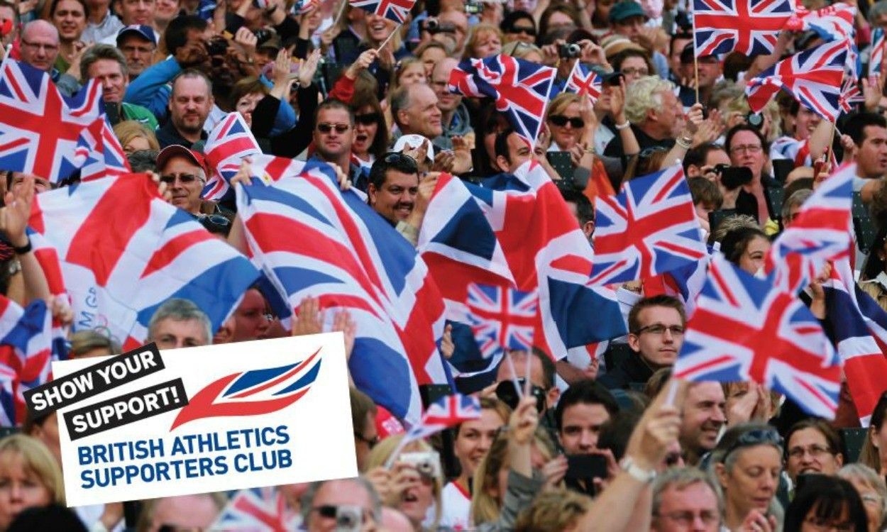 FREE British Athletics Supporters Club membership!