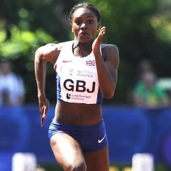 Dina Asher-Smith taking things as they come after strong start to season