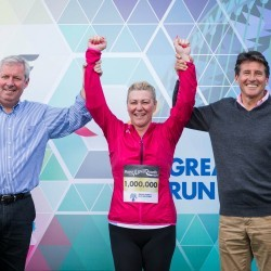 Great North Run millionth finisher to trace event's roots in New Zealand