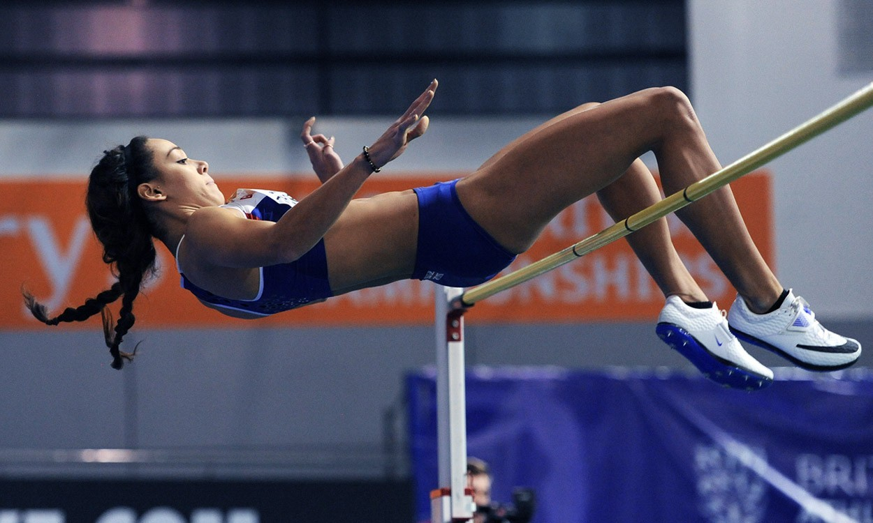 Katarina Johnson-Thompson hungry for more after British record