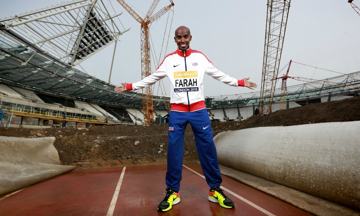 Mo Farah launches Anniversary Games at former Olympic Stadium