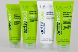 Activbod post-activity products