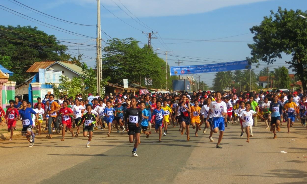 Athletics in Cambodia