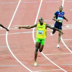 Olympic history: Men's 100m