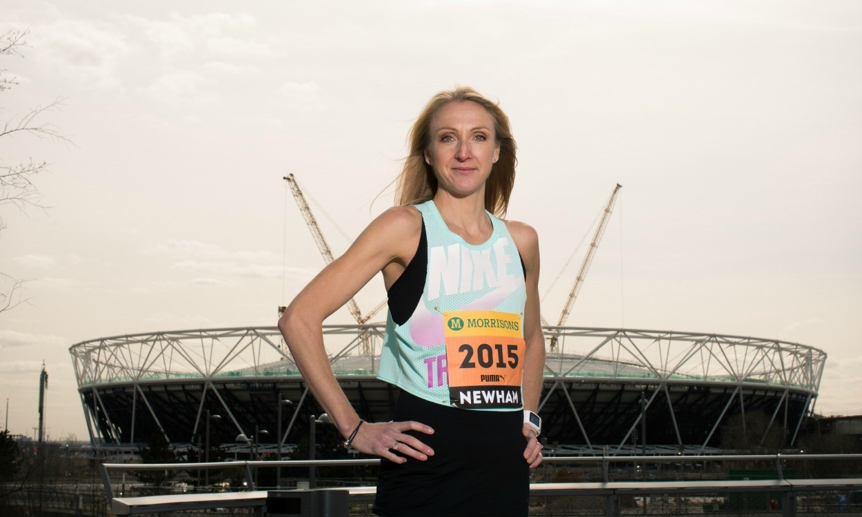 Paula Radcliffe in further search for 'Radcliffe's Great Runners'