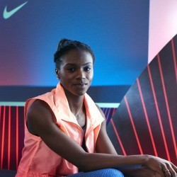 Dina Asher-Smith still in