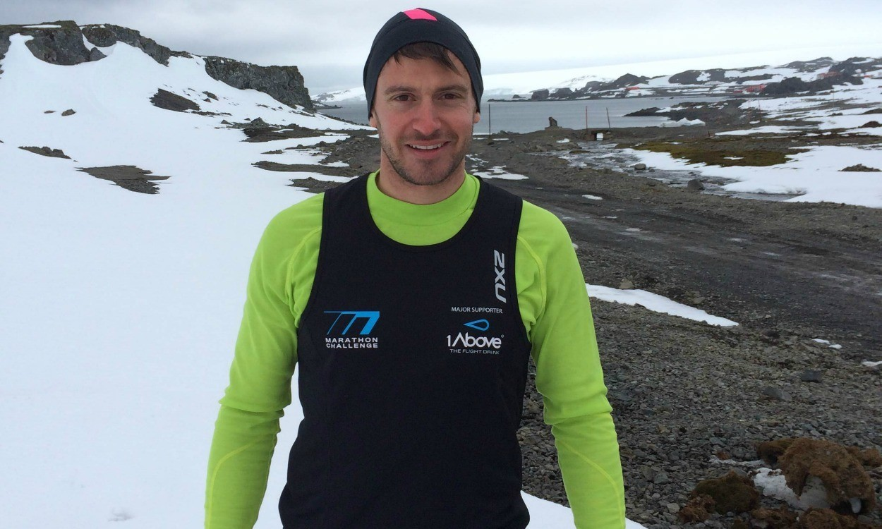 7 marathons, 7 continents, 7 days - the '777' experience