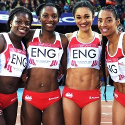 British Athletics names 4x100m and 4x400m teams for World Relays