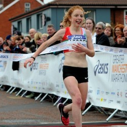 Georgie Bruinvels and Paul Martelletti win Greater Manchester Marathon