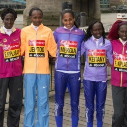 Kenya's 'fantastic four' ready to run London