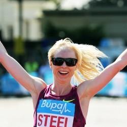 Gemma Steel and Japhet Korir win Great Ireland Run