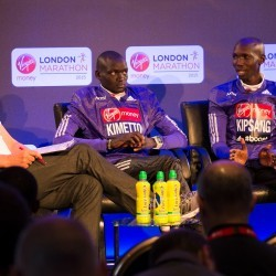 Kimetto and Kipsang prepared for London Marathon battle