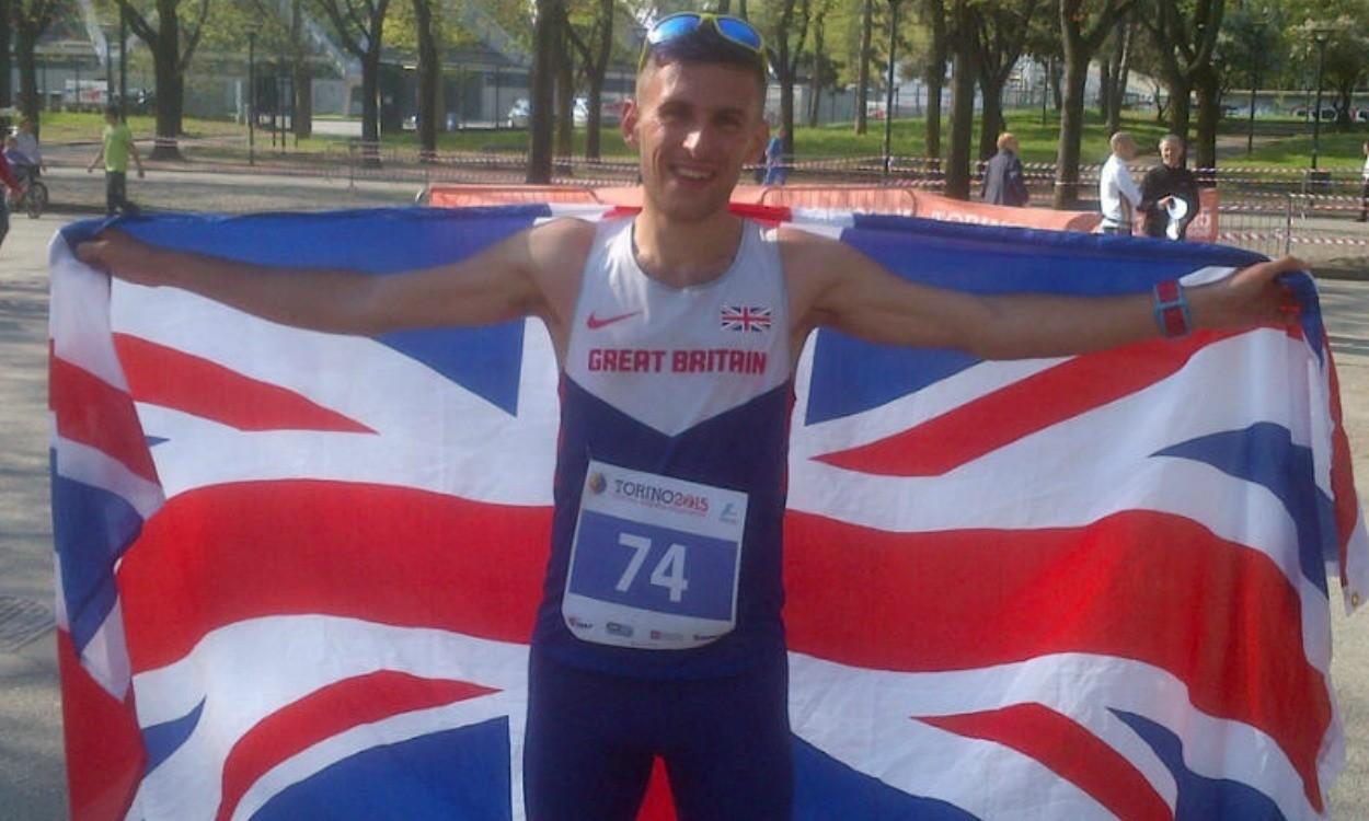 Robbie Britton on GB team for IAU 24H World Championships