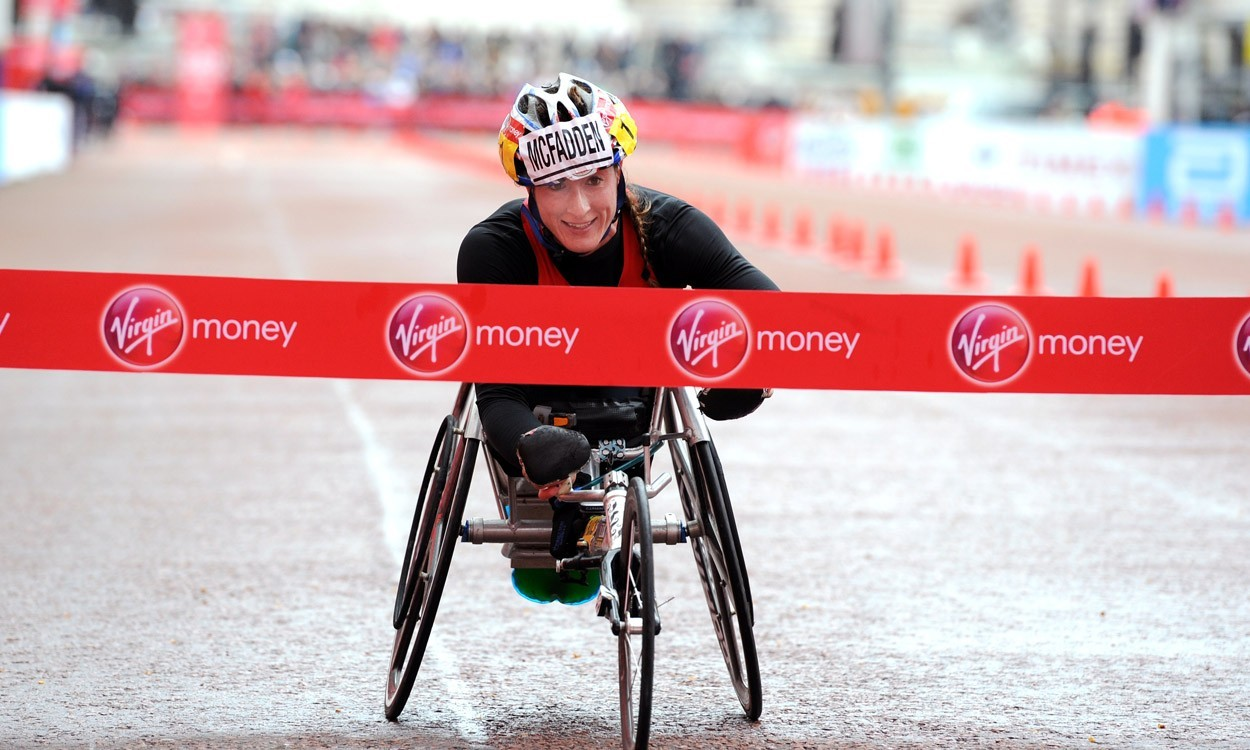 Tatyana McFadden's six-medal success