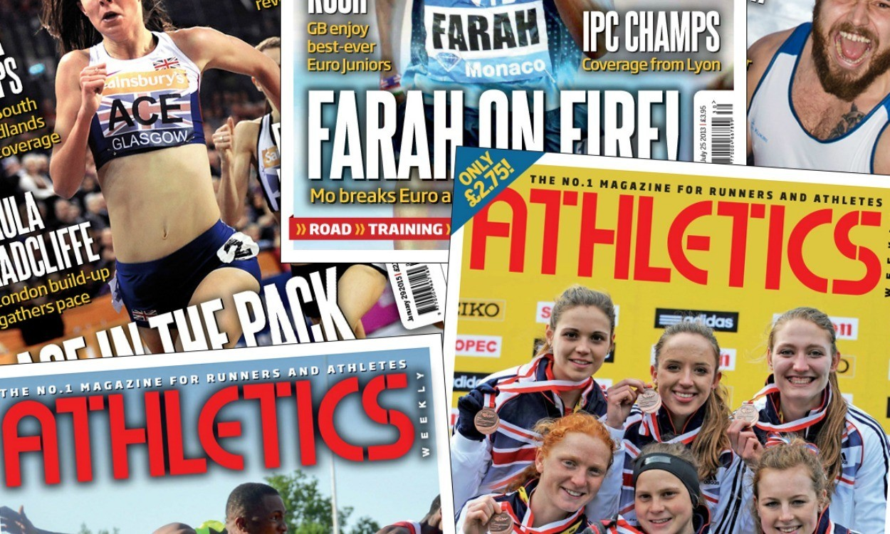 About Athletics Weekly magazine