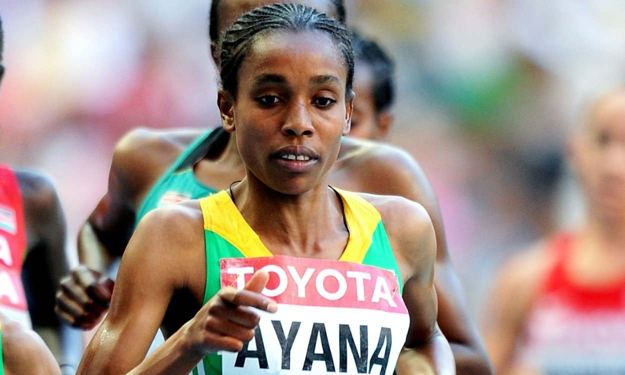 Ayana shocks Dibaba to deny middle-distance double in Beijing