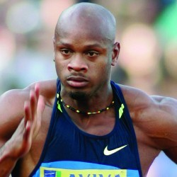 Asafa Powell runs 9.84 100m at Jamaica International Invitational