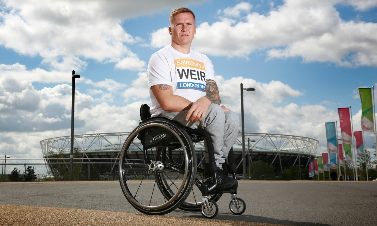 David Weir anticipates