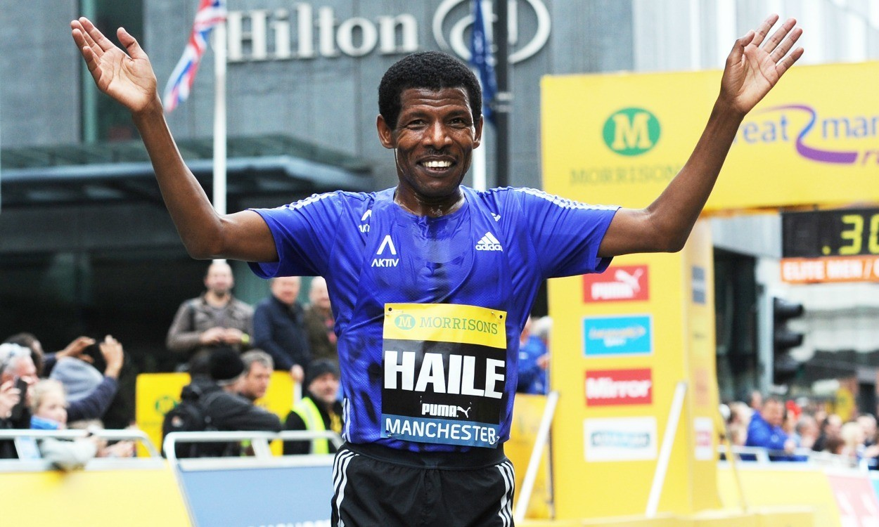 Haile Gebrselassie to miss Great Scottish Run