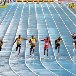 World Championships: Men's 100m/200m