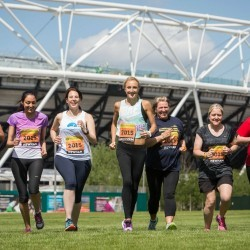 Paula meets Radcliffe's Great Runners ahead of Great Newham London Run