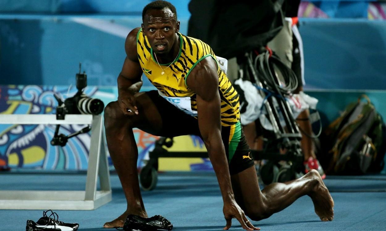 Usain Bolt out injured