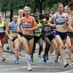 Alison Leonard and Julian Matthews win City of London Mile