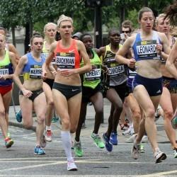 Alison Leonard and Julian Matthews win City of London Mile