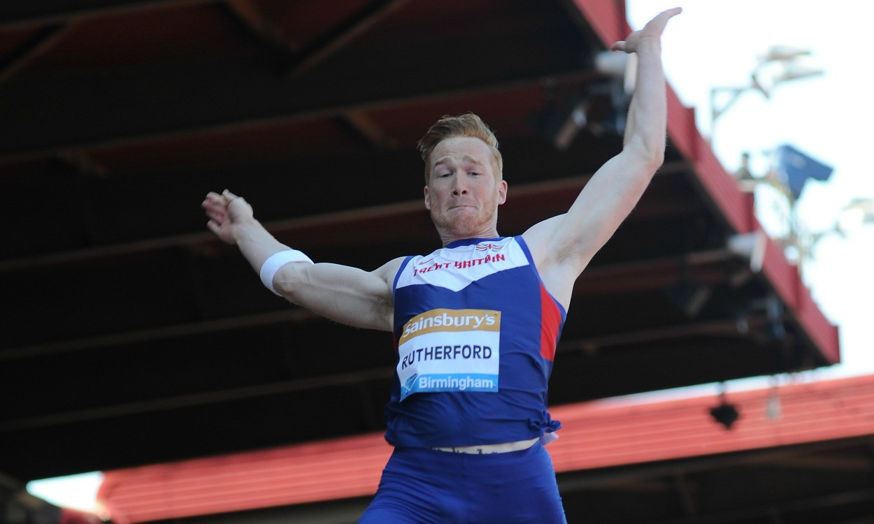 Greg Rutherford wins 'Garden Gala' standing long jump competition - weekly round-up