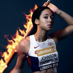 Katarina Johnson-Thompson fired up for season ahead