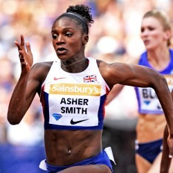 Dina Asher-Smith and Shara Proctor break British records in London