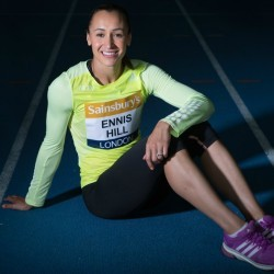 """Jess Ennis-Hill on the """"daunting test"""" of Anniversary Games"""