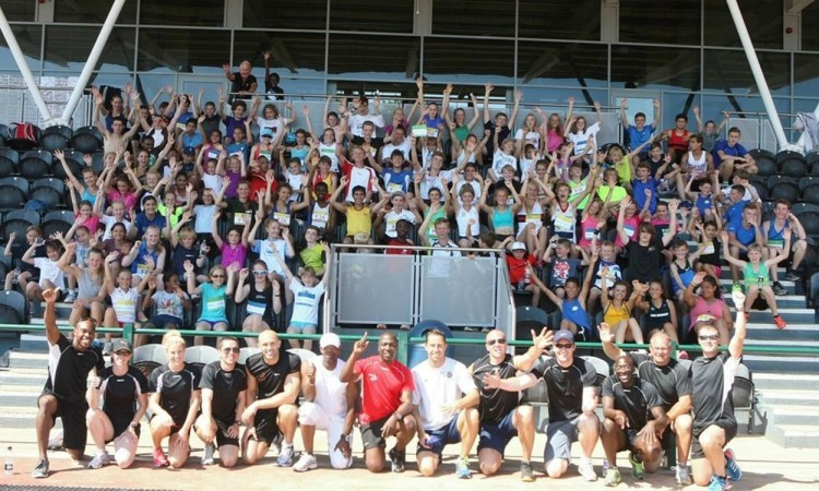 Young athletes get set for Performance Running summer athletics camp