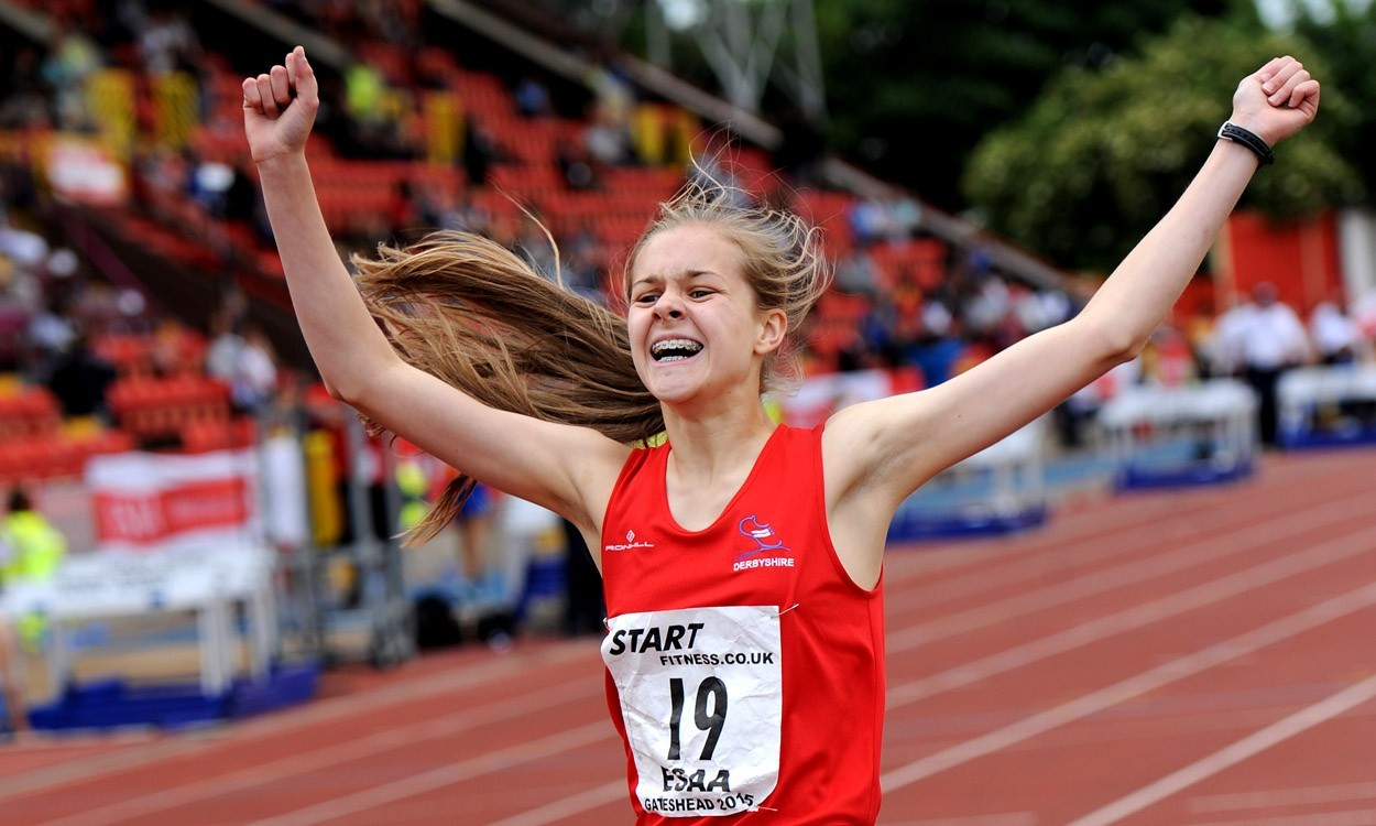 Tilly Simpson shines on day two of English Schools