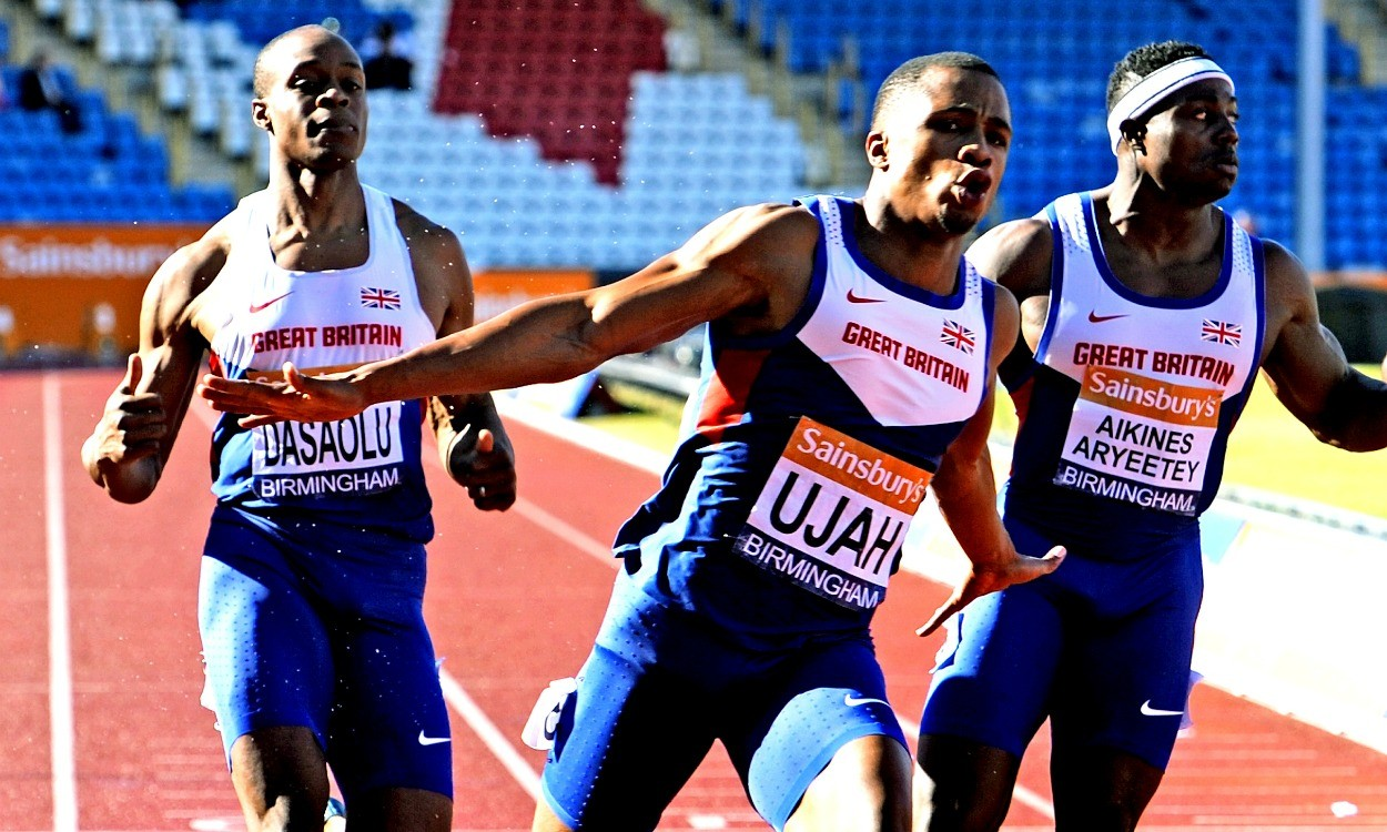 Chijindu Ujah handles the pressure