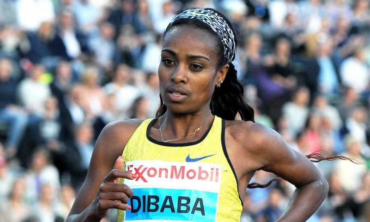 Genzebe Dibaba breaks African 1500m record with 3:54.11