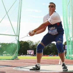 Nick Miller breaks British hammer record in Karlstad