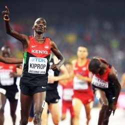 Asbel Kiprop buries the ghosts of Beijing