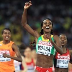 Genzebe Dibaba breaks world indoor mile record in Stockholm