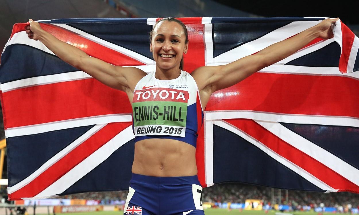 Jessica ennis medalla de oro olímpica británica ass ameman 9