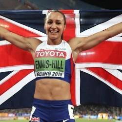 Jessica Ennis-Hill in BBC SPOTY top three