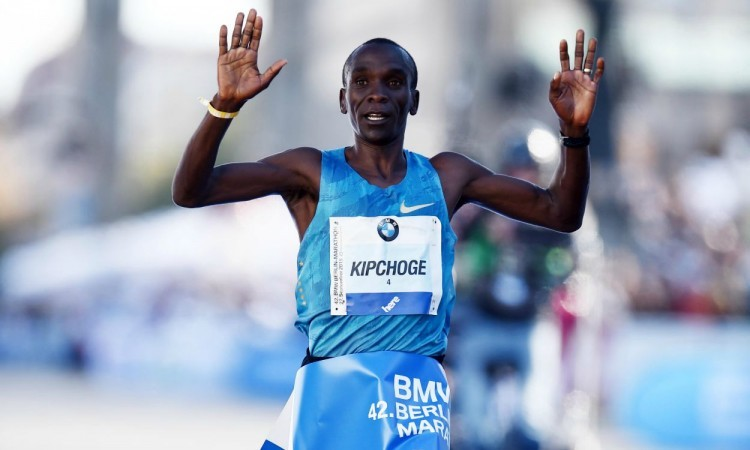 Berlin Marathon: Men's race highlights