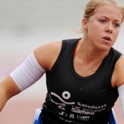 Hannah Cockroft returns to race at the Sainsbury's School Games