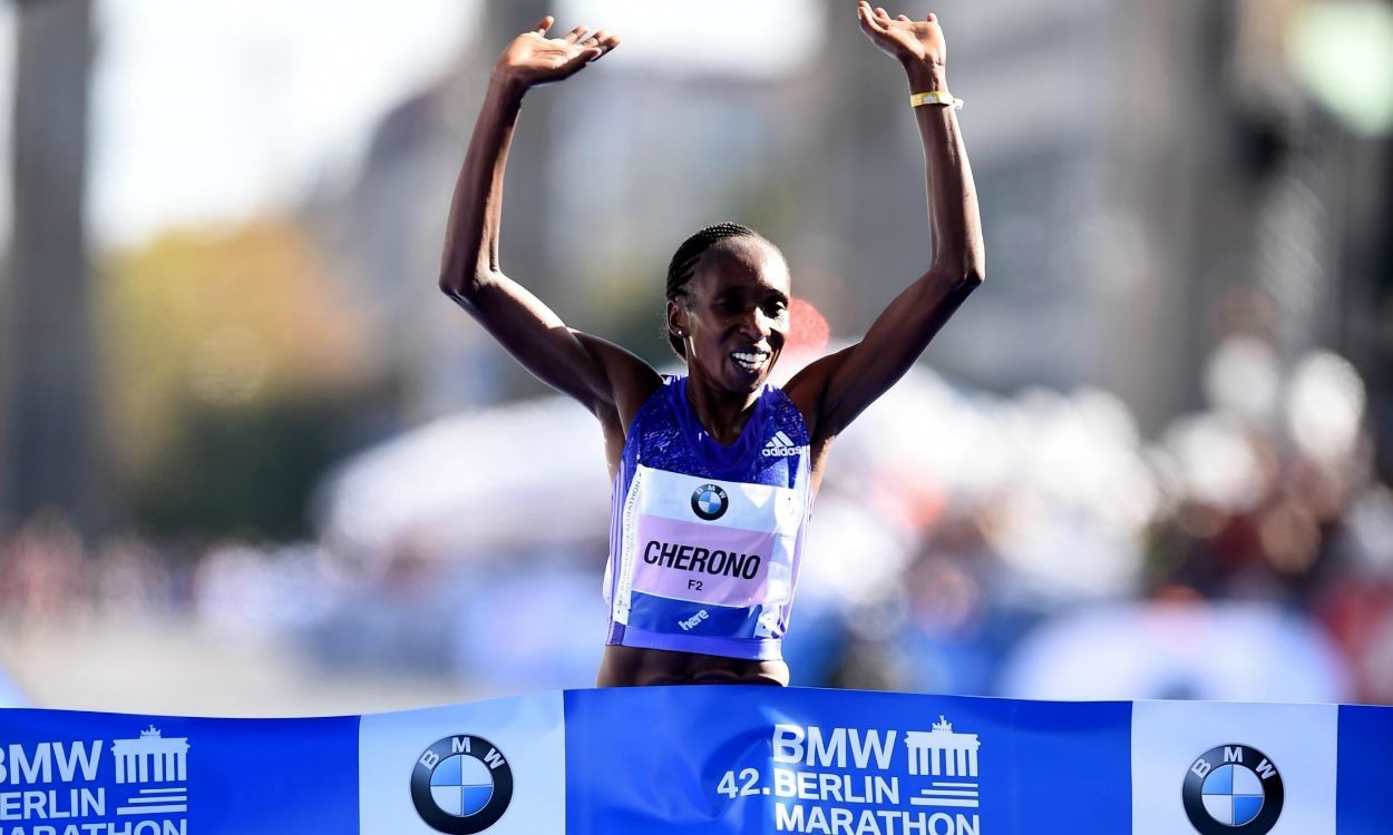 athletics weekly berlin marathon women 39 s race highlights athletics weekly. Black Bedroom Furniture Sets. Home Design Ideas