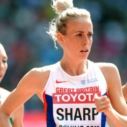Lynsey Sharp looking to learn from indoor season on road to Rio