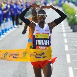 Farah chases triple, Dibaba vs Cheruiyot at Great North Run