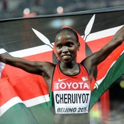 Vivian Cheruiyot and Gelete Burka get set for Doha 3000m