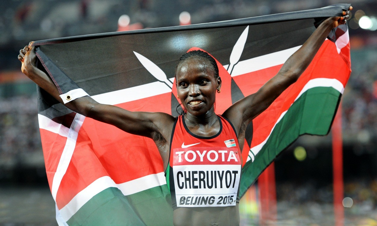 Vivian Cheruiyot and Gelete Burka get set for Doha 3000m