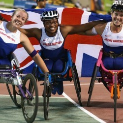 Kare Adenegan prepares for Paralympic debut four years after taking up sport